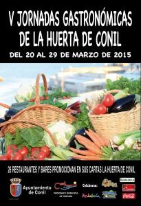 Plakat Jornadas Gastronómicas de la Huerta de Conil