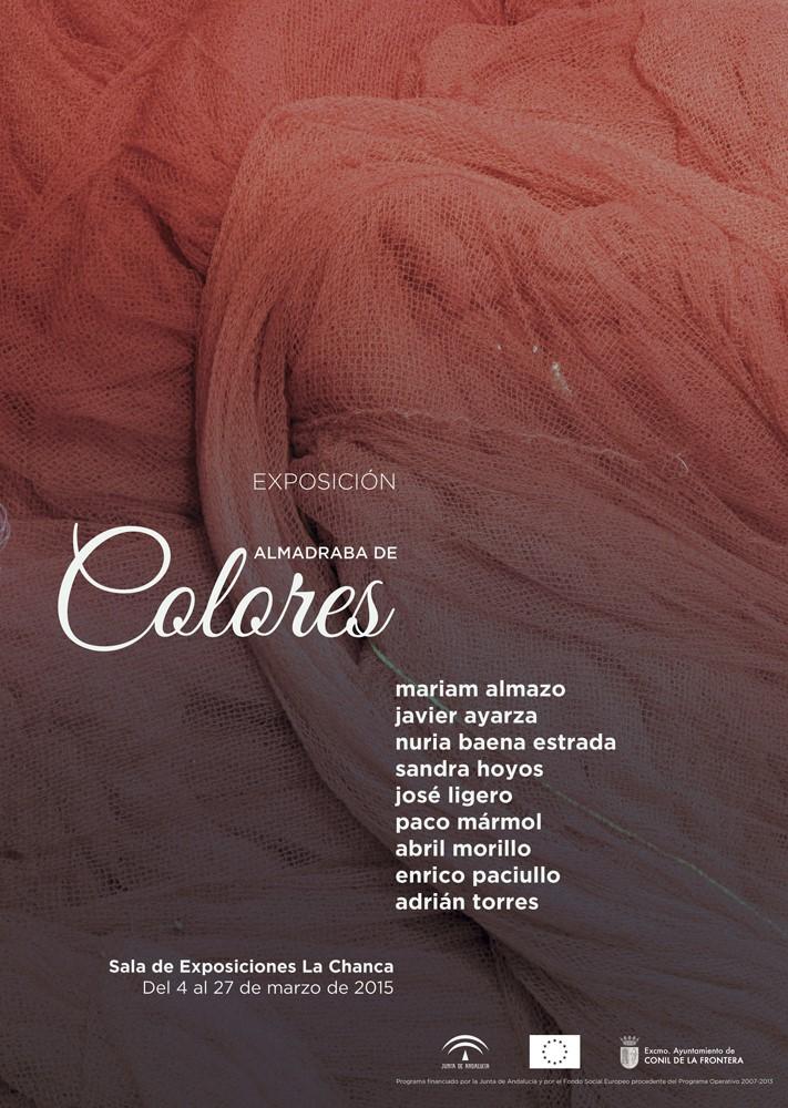 Plakat Exposición Almabraba de Colores