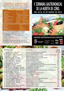 Details V. Jornadas Gastronómicas de la Huerta de Conil